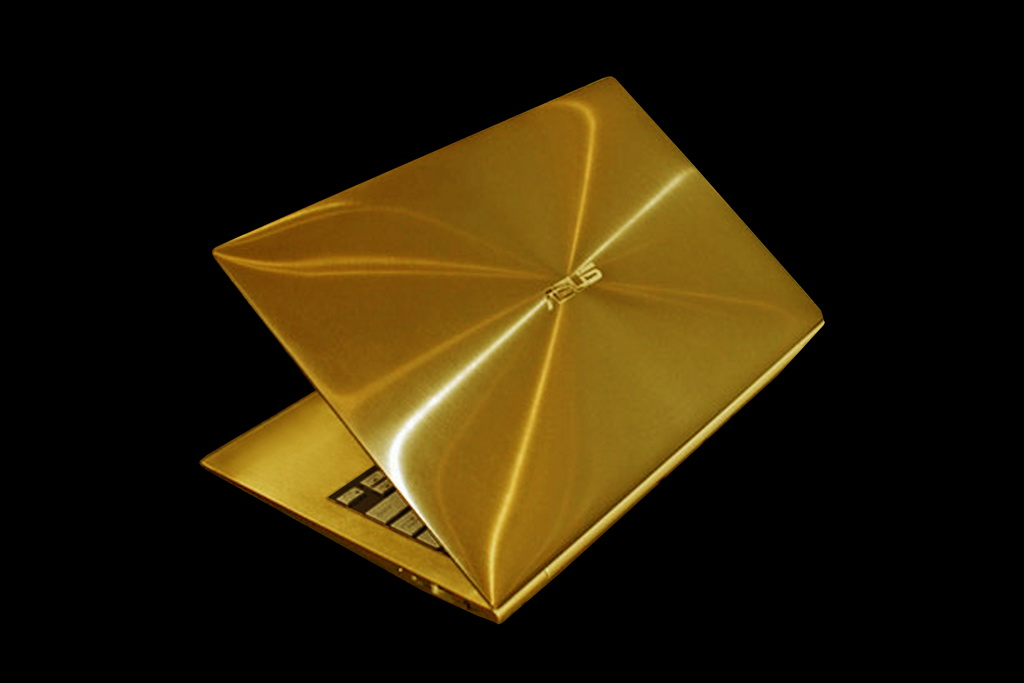 MJ Ultrabook Asus Zenbook Gold