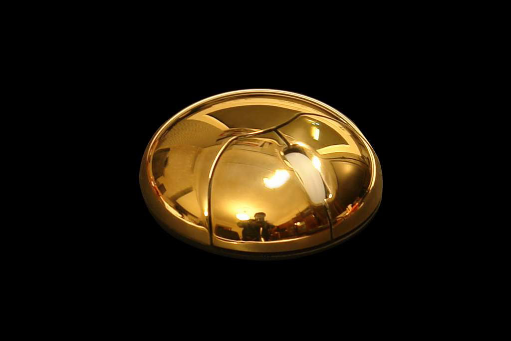 Luxury VIP Mouse MJ Gold Limited Edition - Solid Pure 24ct Gold 999