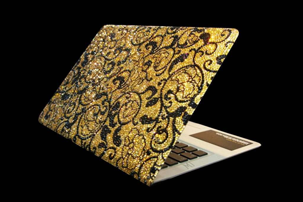 Luxury MJ Apple Macbook Air Gold 999 Diamond Limited Edition - Incrustation Diamond 24 carat